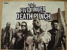 Five Finger Death Punch __ Poster __ size 45 cm x 58 cm