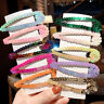 New Fashion Women Ins Color Sequins Hairpin BB Clip  Wild Fish Scale Hair FBB