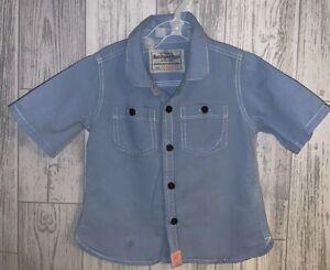 Boys Age 9-12 Months - Next Short Sleeved Summer Shirt