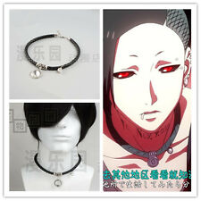 Hot Japan Anime Tokyo Ghoul Cosplay Uta Punk Fashion Collars Necklace Pendant