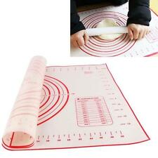 Fiberglass Silicone Dough Rolling Baking Mat Pastry Clay Pad Sheet Liner.