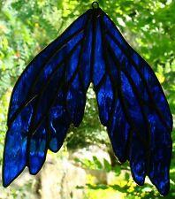 AZURE BLUE ANGEL WINGS leadlight suncatcher spiritual Christmas gifts in store