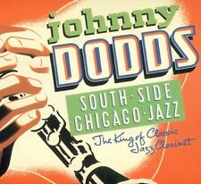 """JOHNNY DODDS SOUTH SIDE CHICAGO JAZZ LOUIS ARMSTRONG EARL HINES 12"""" LP (L8155)"""