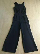 Boden Clarissa Jumpsuit - navy blue sleeveless jumpsuit