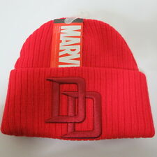 Marvel Daredevil The Defenders Red HAT CAP Knit Winter Red Beanie Hat SALE