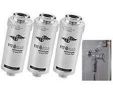 3 X3 x Filtro fitaqua antiscaling FILTRO ACQUA PER DOCCIA CONTRO cloro e calce
