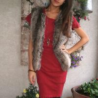 GENIAL HOCHWERTIG Strickkleid KLEID Tunika Cotton ROT Gr.34/36 XS/S