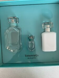 TIFFANY & CO💎3 Piece Gift Set EDP NEW✨75ML PERFUME+MINI+LOTION💎RRP$215