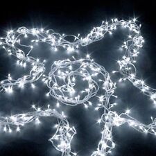 700 LED CHRISTMAS & WEDDING FAIRY LIGHTS WITH MEMORY WHITE (Clear Wire)