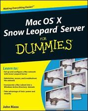 Mac OS X Snow Leopard Server For Dummies