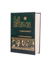 La Biblia Latinoamerica FORMADORES Pasta Dura VERDE -Catolica Latinoamericana