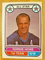 1975-76 O-Pee-Chee Gordie Howe #66 WHA