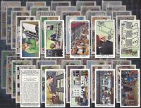 LAMBERT & BUTLER-FULL SET- INTERESTING SIDELIGHTS ON WORK OF THE GPO (50 CARDS)