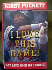 I Love This Game! My Life and Baseball by Kirby Puckett (1993, Hardcover) 1st Ed