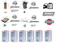 Kit Filtri Tagliando Nissan X-TRAIL 1.6 dci + 6 Litri Olio Originale Nissan 5W30