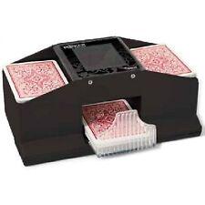 Poker et cartes à jouer noirs