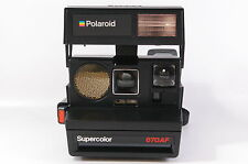 Polaroid Supercolor 670 af Instant camera for 600 película tested ref. 124161 dlmntn