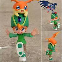 Digimon Ishida Yamato Takaishi Takeru Tunomon Tokomon PVC Figure New In Box