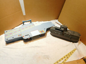 Matchbox Sky Busters Aircraft Carrier 2009 & ORION J-22 SUB FOR PARTS OR REPAIR