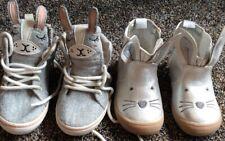 2 Pr Toddler Girls Shoes 5
