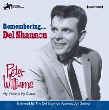Remembering DEL SHANNON - Peter Williams Guitar Instrumentals