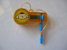 Sanrio Cinnamoroll Trinket Ornament Noise Maker Gold Vintage New '96/00