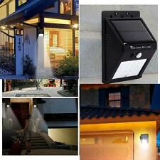 Newest 20 LED Waterproof Motion Sensor Solar Power Light Outdoor Lamp Security