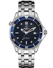 Reloj deportivo Reino Unido sekaro 007 piloto militar mecánico estilo buzos Engaste Azul