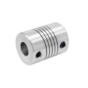Aluminum Flexible Shaft Coupler 5/6.35/8mm To 5/6.35/8/10mm CNC Reprap 3Dprinter