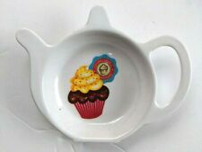 Melamine Teabag Holder Cupcake Tea Bag