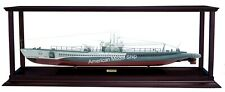 """Display Case For War Ships Length 37"""" – 43"""" With Acrylic"""