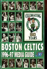 Media Guide Press Basketball NBA - Boston Celtics - 1996 1997 Larry Bird Assista