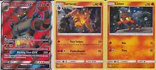 Pokemon Ultra Rare Holo Full Art Incineroar GX Torracat Litten SM38 Card PROMO