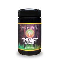 MULTI-VITAMIN & MINERAL COMPLEX (120 Vegan Capsules) (natural food-based)