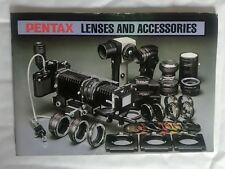 Pentax Lenses & Accessories Small Product Brochure