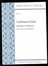Guillaume Dufay Ballades & Rondeaux EML 317. 1997 Good