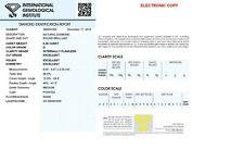 0,25ct natural round brilliant d if ex ex ex igi certificate laserinscription