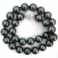 "8 mm South Sea Multicolore Shell collier de perles 18/"" AAA"