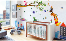Winnie The Pooh Wall Stickers Nursery boy kid baby Room Vinyl Art Decal Decor-Tし