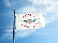 Not like Other Girls Flag Grateful Dead Scarlet Begonias 3X5 Banner