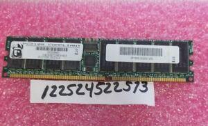 2GB DDR1 DDR PC  PC2100R DDR-266 2100R  266 184PIN RDIMM DUAL RANK  2RX4  128X4
