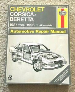 Haynes Repair Manual 24032 Chevrolet Corsica Beretta 1987-1996