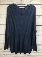 Soft Surroundings Women's Size M Lightweight Sweater Soft Knit Top Wool Blend