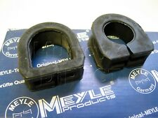 Pair MEYLE Steering Rack Mounts Mk1 VW Golf GTI Mk1 Convertible & Scirocco