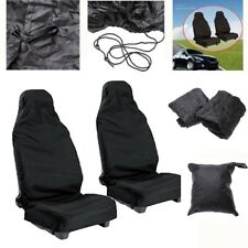 Black Throwover Automotive Car Seat Skin Full Cover Against Dust Dirt Protective