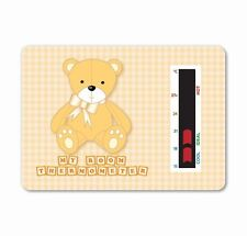 Baby Bear Room Thermometer (Brown/Beige) To help you maintain a safe temperature