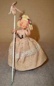 Antique Felt German Baps STORYBOOK DOLL Edith Von Arps LITTLE BO PEEP
