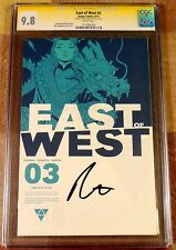 East of West 3, CGC 9.8 SS, signed by Dragotta, graded NM/MT, 1st print