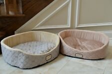New listing Armarkat Cat Bed Model C35Hqh/Mh, Pale Silver and Beige