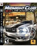 Midnight Club: Los Angeles Playstation 3 PS3 Game Original Release Collectible